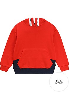 little-marc-jacobs-boys-pocket-front-hoodienbsp--rednavynbsp