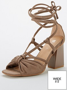 v-by-very-bret-wide-fit-strappy-tie-leg-sandals