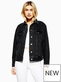 topshop-denim-jacket-black