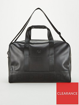 fred-perry-embossed-pu-holdall
