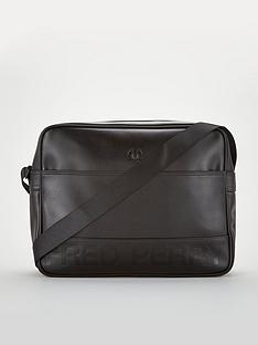 fred-perry-embossed-pu-shoulder-bag
