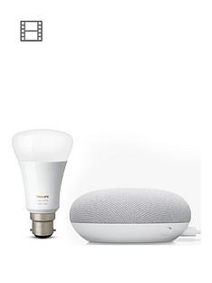 google-chalk-mini-with-philips-white-bulb-b22