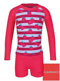 regatta-little-adventurers-strawberry-valo-rash-swim-set-pink