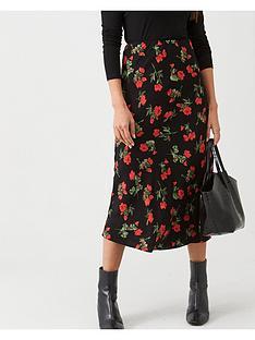 v-by-very-printed-bias-cut-midi-skirt-floral