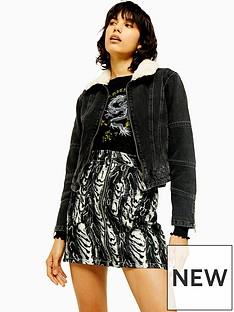 topshop-topshop-seam-detail-borg-jacket-black