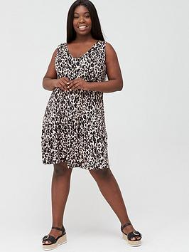 v-by-very-curve-pocket-swing-dress-print