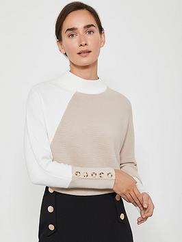 mint-velvet-blocked-ottoman-batwing-knit-jumper-camelivory