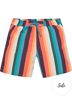 paul-smith-junior-boys-stripe-swimshortsnbsp--multi