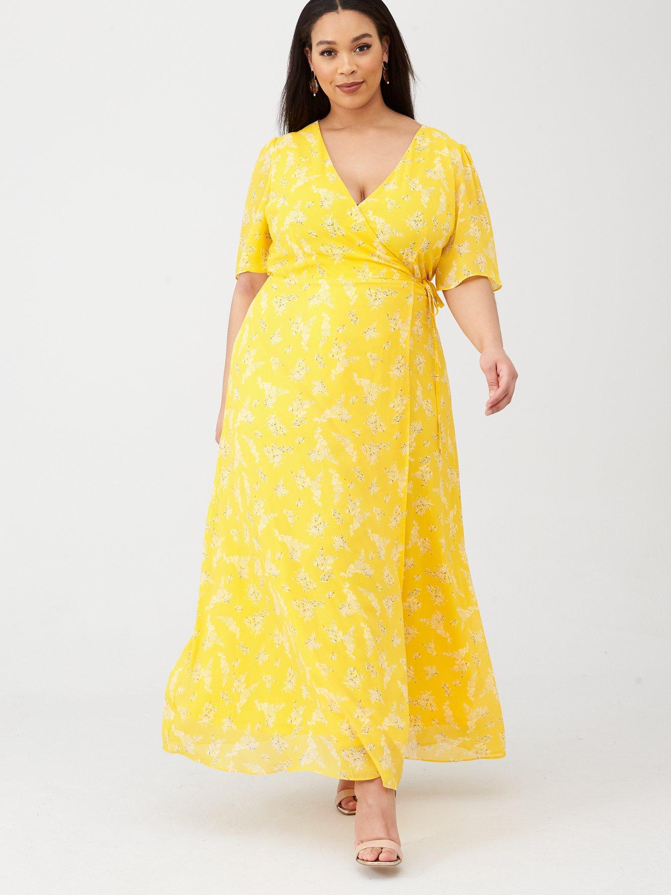 Amazing Yellow Evening Gown with Yellow Wrap Made to the Fit Barbie Doll
