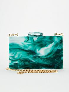 v-by-very-kite-resin-box-clutch-mint