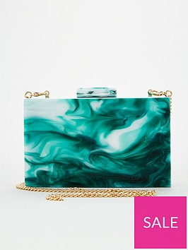 v-by-very-kite-resin-box-clutch-mint
