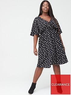 v-by-very-curve-spotnbspwrap-dress