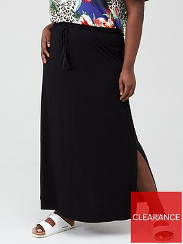 v-by-very-curve-jersey-maxi-skirt-black
