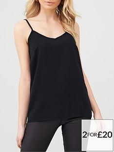 v-by-very-essential-cami-black