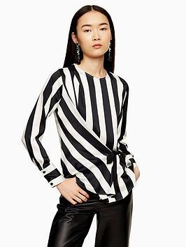 topshop-tie-side-blouse-mono