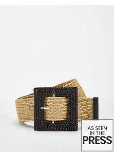 v-by-very-raffia-buckle-belt-natural