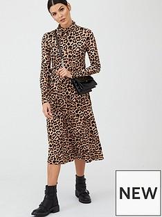 v-by-very-roll-neck-midi-dress-animal