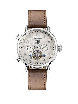 ingersoll-ingersoll-muse-silver-daydate-skeleton-eye-automatic-dial-tan-leather-strap-watch