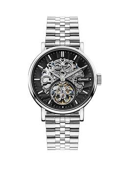 ingersoll-ingersoll-charles-black-and-silver-detail-skeleton-automatic-dial-stainless-steel-bracelet-watch