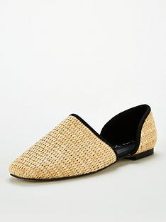 v-by-very-madora-square-toe-2-part-flat-naturalnbsp