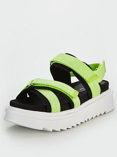 v-by-very-haddix-sporty-hiking-sandals-green