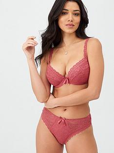 pour-moi-rebel-padded-plunge-bra-raspberry