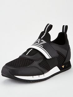 ea7-emporio-armani-logo-strap-runner-trainers-black