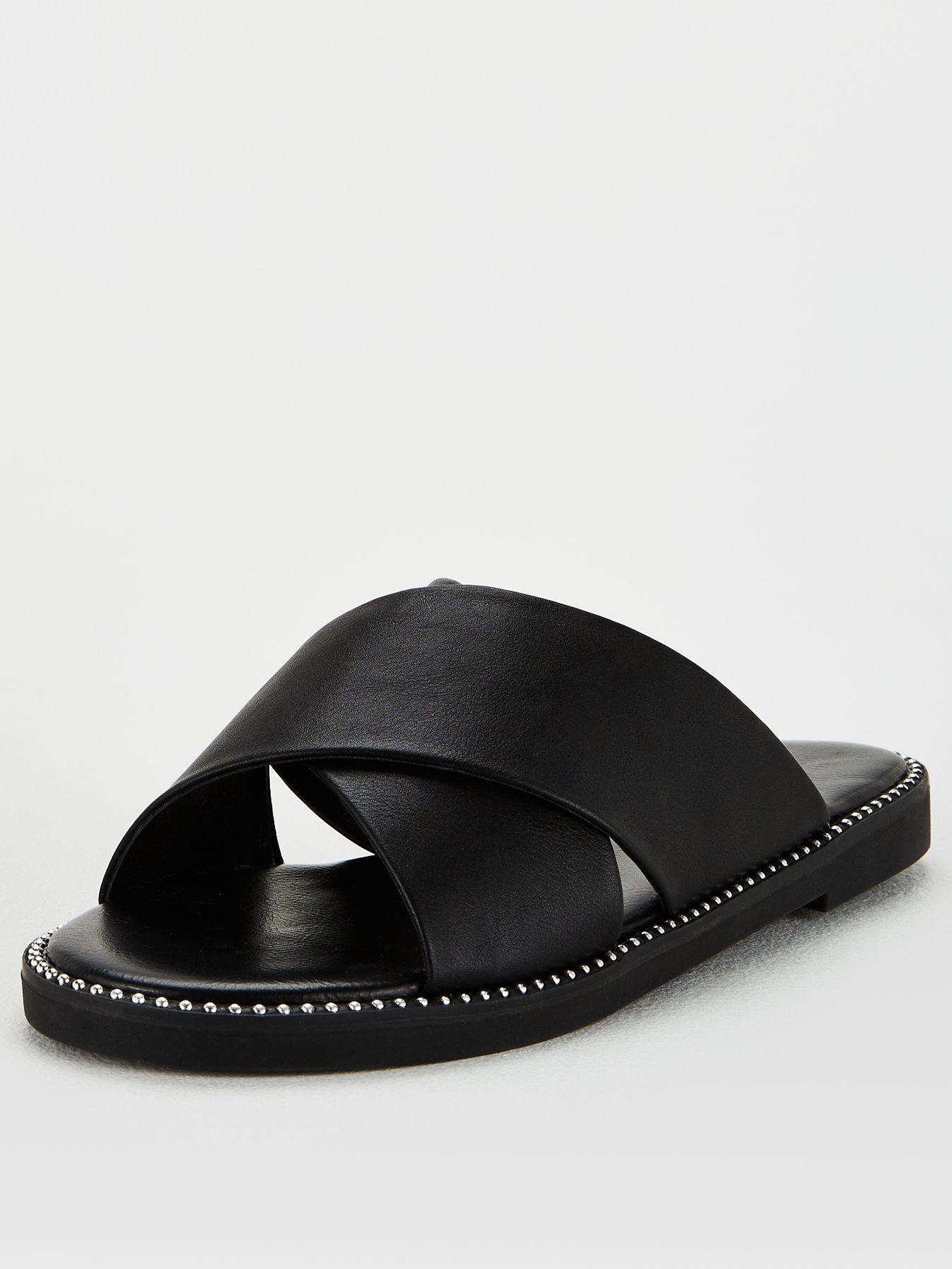 V by Very Hara Wide Fit Cross Strap