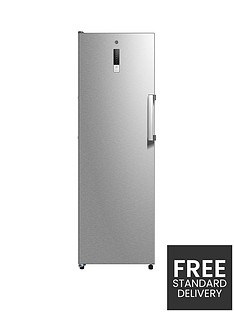 hoover-hff-1862km-tall-freezer-with-display-stainless-steel