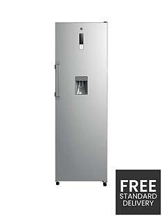 hoover-hls-1862-wdkm-free-standing-tall-fridge-with-water-dispenser-stainless-steel