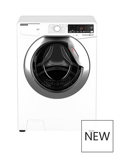 Hoover 12kg 1400 rpm WIFI Washing Machine White with Chrome door