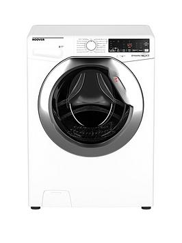 Hoover Dwoa412Ahc8/1-80 12Kg Load, 1400 Rpm, Wifi Washing Machine - White With Chrome Door