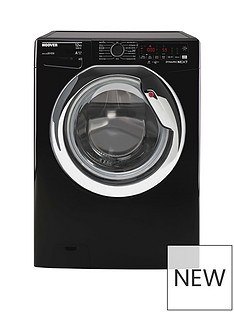 Hoover 12kg 1400 rpm WIFI Washing Machine Black with Chrome door