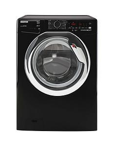 Hoover DWOA412AHC8B-80 12kg Load, 1400 rpm, WIFI Washing Machine - Black with Chrome Door