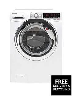 hoover-dxoa410c3w-10kg-load-1400-spin-speed-wi-fi-washing-machine-white-with-chrome-door