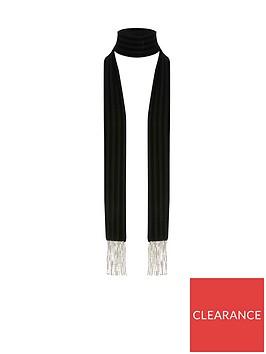 river-island-tassel-detail-scarf-black