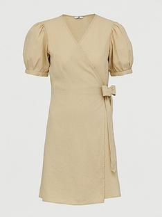 v-by-very-linen-wrap-dress