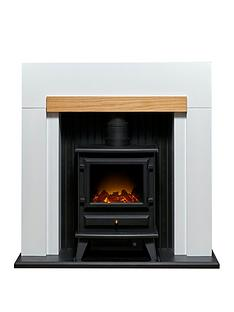 adam-fires-fireplaces-adam-salzburg-stove-suite-in-pure-white-oak-with-hudson-electric-stove-in-black