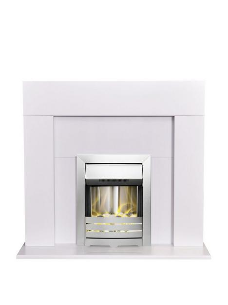 adam-fires-fireplaces-adam-miami-fire-suite-in-pure-white-with-helios-electric-fire-in-brushed-steel