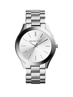 michael-kors-mk3178-slim-runwaynbspsilver-dial-stainless-steel-bracelet-ladies-watch