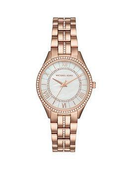michael-kors-mk3716-lauryn-silver-dial-rose-gold-stainless-steel-bracelet-ladies-watch