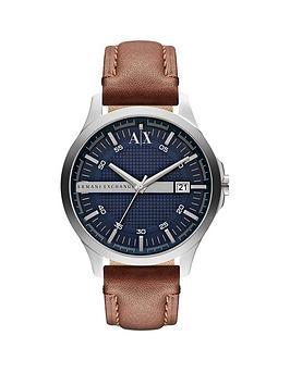 armani-exchange-armani-exchange-blue-date-dial-tan-leather-strap-mens-watch