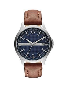 armani-exchange-blue-date-dial-tan-leather-strap-mens-watch
