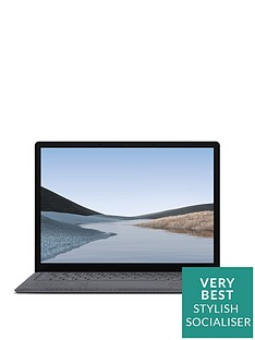 microsoft-surface-laptop-3-135-inch-intel-core-i5-8gb-ram-128gb-ssd-platinum-with-optional-microsoftnbsp356-family-1-year