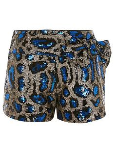 river-island-girls-leopard-print-sequin-bow-short-multi