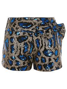 river-island-girls-leopard-print-sequin-bow-short-multi