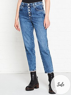 j-brand-heather-high-rise-button-fly-straight-jeans-blue