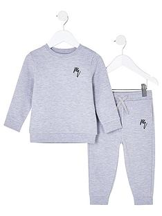 river-island-mini-boys-rvr-sweat-and-jogpant-outfit--nbspgrey