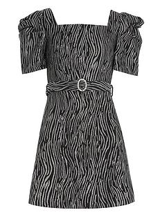 river-island-girls-zebra-print-skater-dress-silverblack