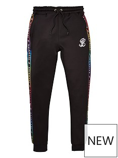 illusive-london-boys-taped-cuffed-jog-pants-black